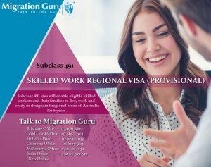 Skilled Regional Visa