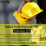 491 Visa - Skilled Worker Holding Hard hat