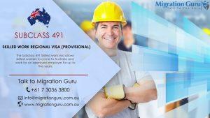 491 Visa - Skilled Tradesman Wearing Hard hat