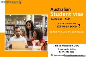 Student Visa Toowoomba